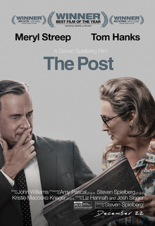 the post movie steven spielberg